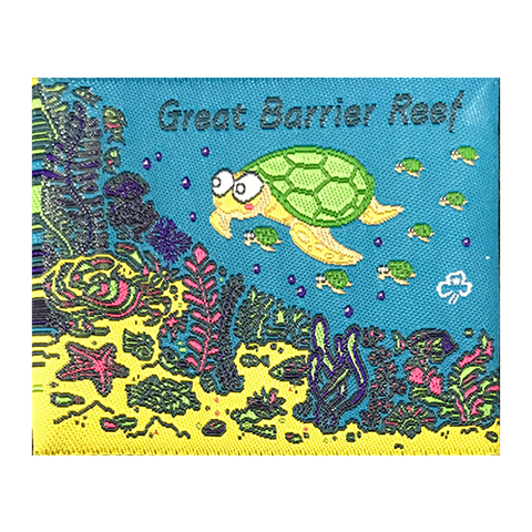 Great Barrier Reef Cloth Badge