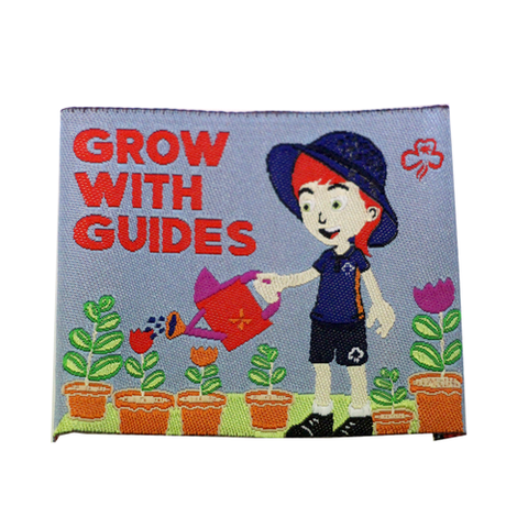 Grow With Guides Cloth Badge