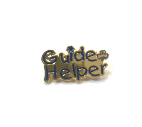 Guide Helper Metal Badge - Guides Queensland Guide Supplies