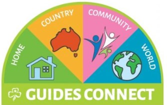 Guides Connect Cloth Badge