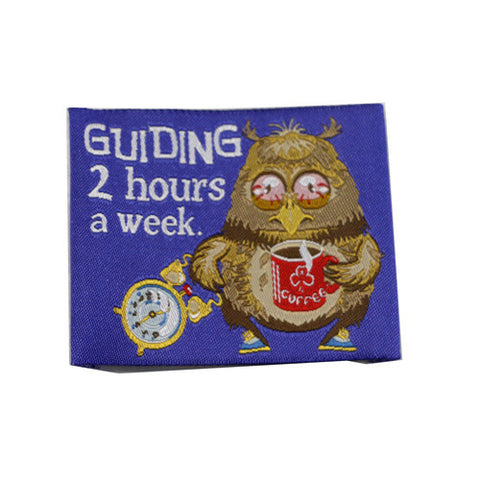 Guiding 2 Hours a Week Cloth Badge