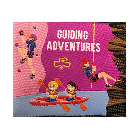 Guiding Adventures Cloth Badges