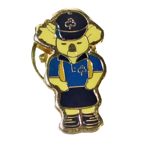 Koala In Guide Uniform Metal Badge