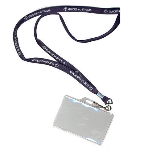 Lanyard and Pocket Girls Guides - Guides Queensland Guide Supplies