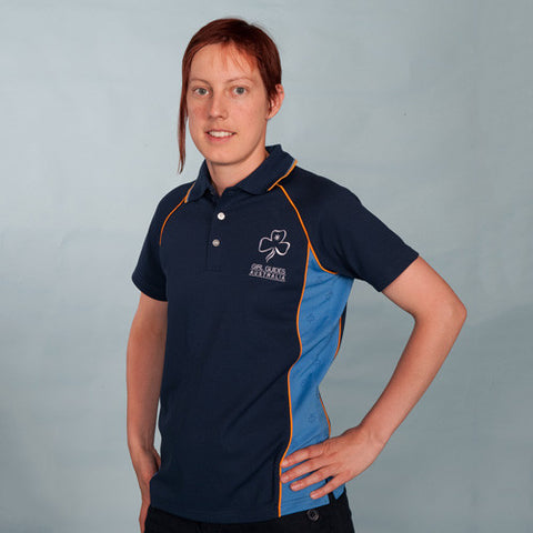 Leaders Polo Uniform - Guides Queensland Guide Supplies - 1