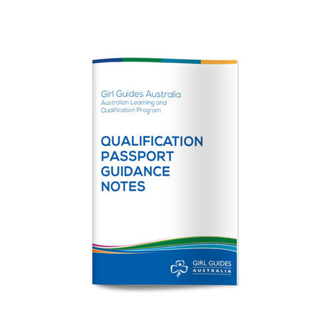 Leadership Passport Guidance Notes - Guides Queensland Guide Supplies - 1