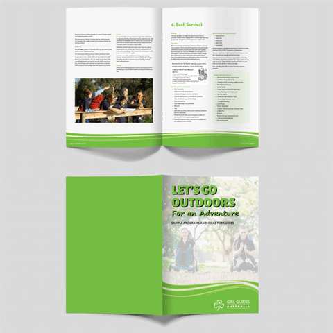 Lets Go Outdoors For An Adventure Activity Booklet