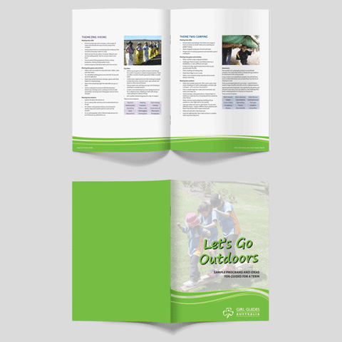 Lets Go Outdoors Activity Booklet