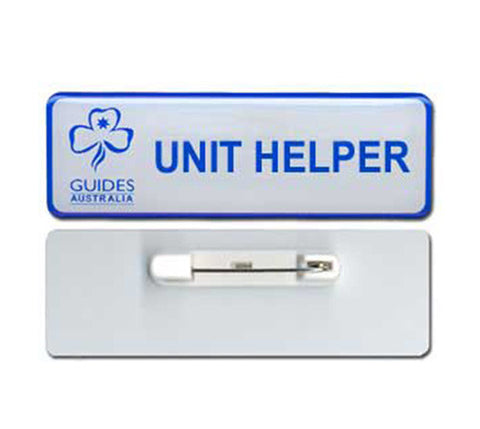 Name Bar Unit Helper - Brooch Fitting - Guides Queensland Guide Supplies