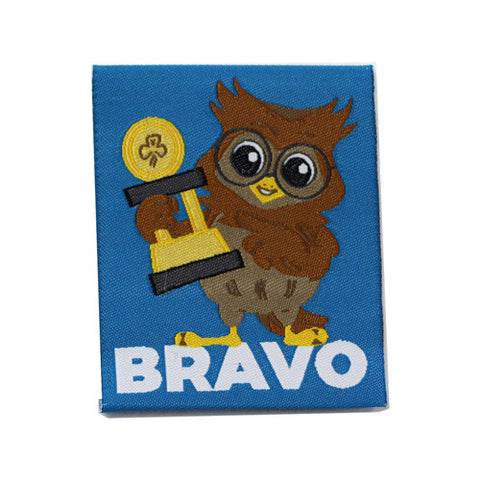 Bravo Cloth Badge