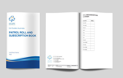 A5 Patrol Subs Book - Guides Queensland Guide Supplies - 1