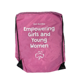 Girl Guides Drawstring Backpack