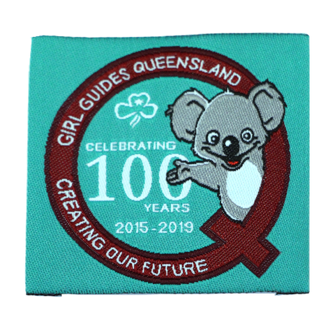 Queensland State Centenary Cloth Badge
