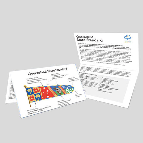 Queensland State Standard Card - Guides Queensland Guide Supplies