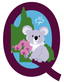Queensland State Metal Badge 2020