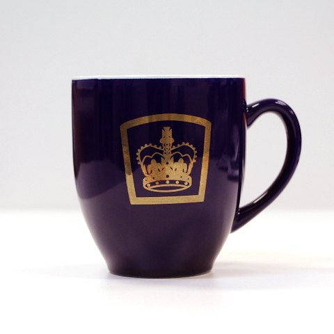 Queens Guide Mug Cobalt Blue