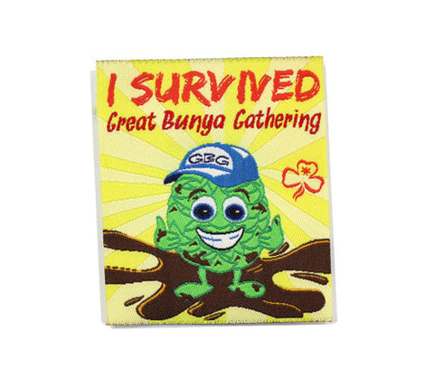 GBG I Survived Great Bunya Gathering - Guides Queensland Guide Supplies