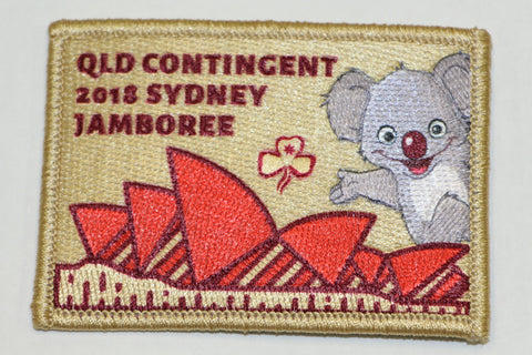Sydney Jamboree 2018 Badge
