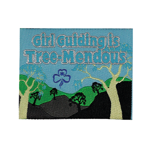 Girl Guiding Is Tree-Mendous Cloth Badge