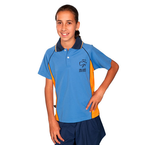 Tween Polo Uniform Blue/Orange