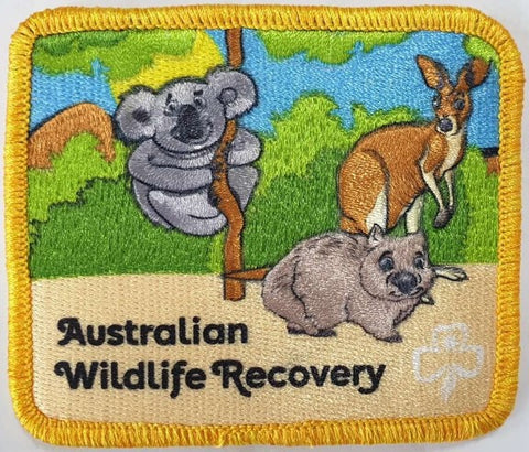 State Good Turn 2020 - Australian Wildlife Recovery Cloth Badge