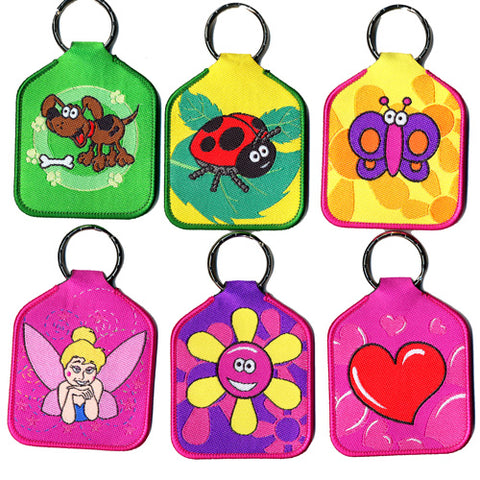 Woven Bag Tag - Mixed Designs