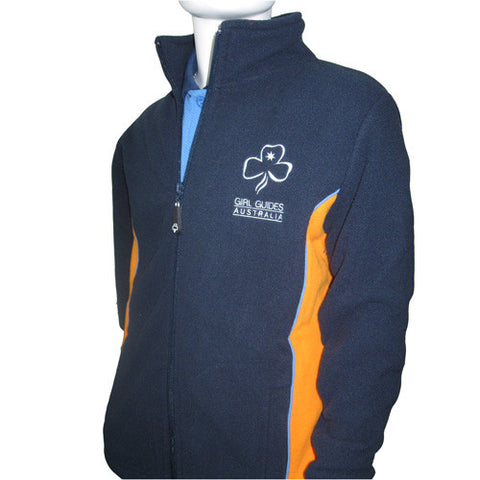 Youth Uniform Fleece Jacket - Guides Queensland Guide Supplies - 1