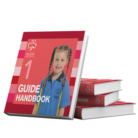 Handbook 1 Girls 5 - 7 Years - Guides Queensland Guide Supplies