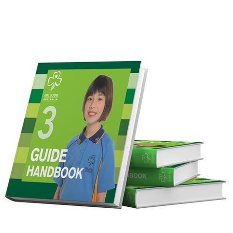 Handbook 3 Girls 9 - 12 Years - Guides Queensland Guide Supplies
