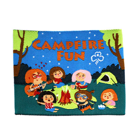 Campfire Fun Cloth Badge