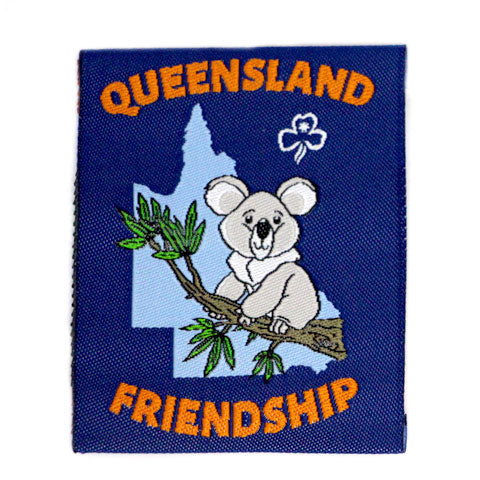 Queensland Friendship Cloth Badge