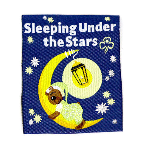 Sleeping Under The Stars Cloth Badge
