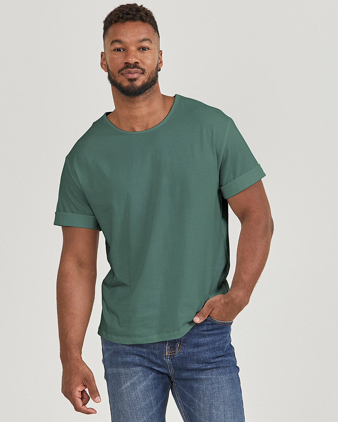 Mens Magic Fit® T-shirts in limited edition Verdigris   Citizen Wolf