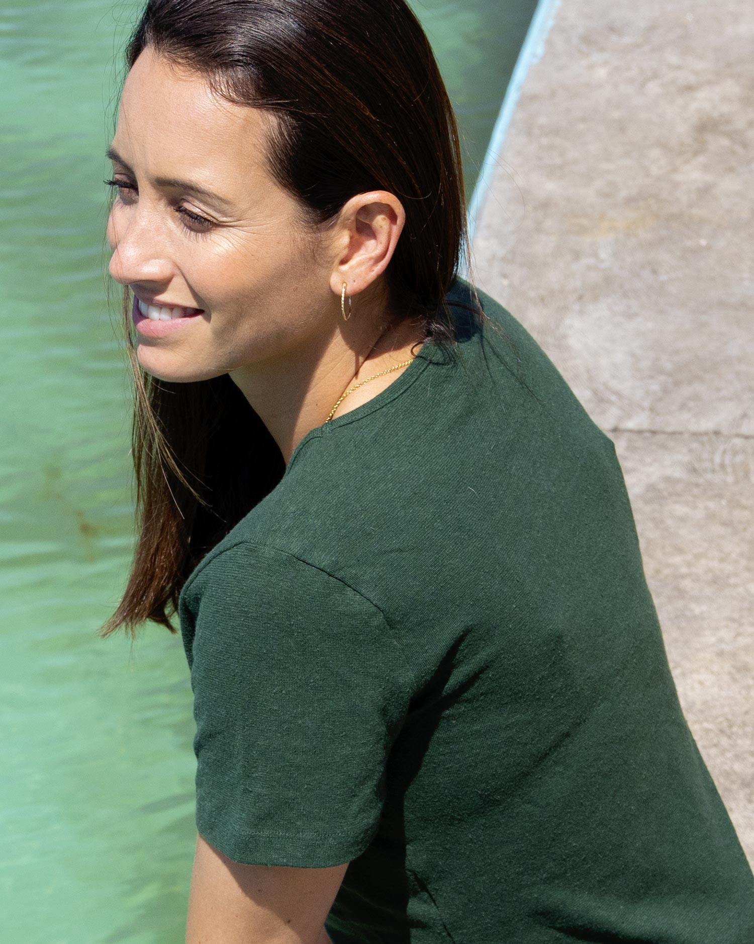 Limited Edition British Racing Green Womens T-shirt | Citizen Wolf