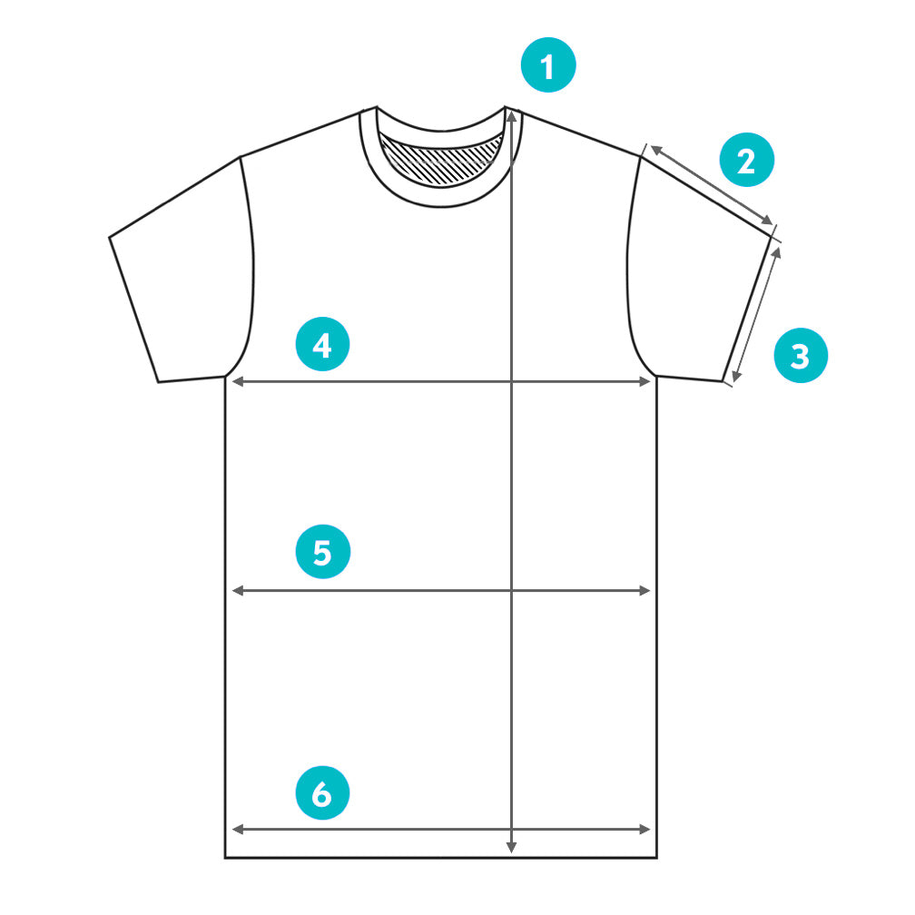 How to Measure a Tee | Citizen Wolf