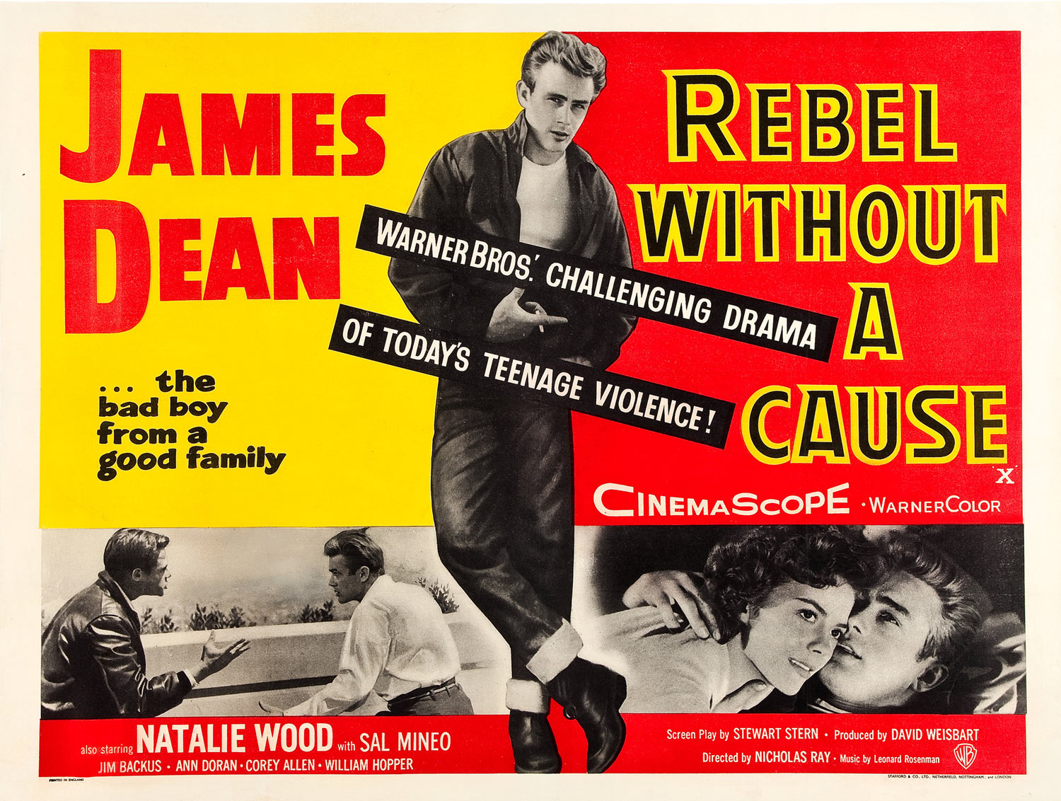 """James Dean """"Rebel Without a Cause"""""""