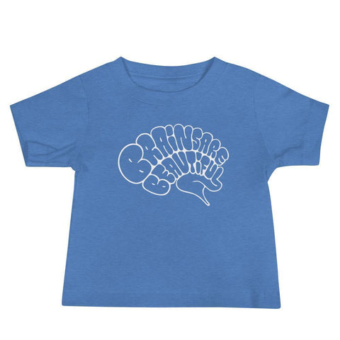 Brains Are Beautiful - Baby Tee
