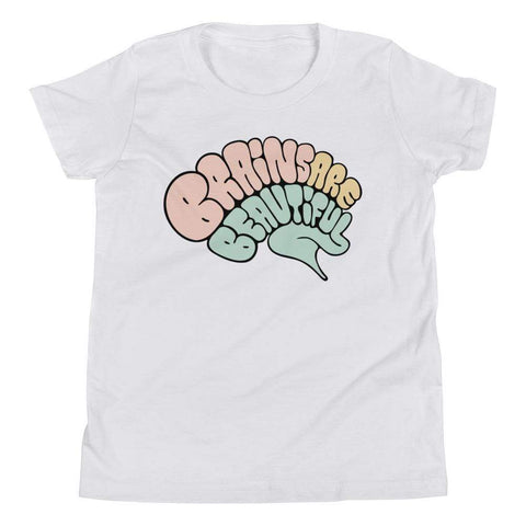 Brains Are Beautiful - Youth Tee