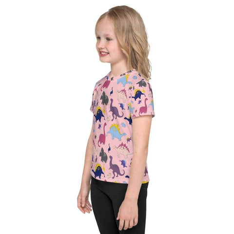 Dino-Mite Toddler T-Shirt in Pink