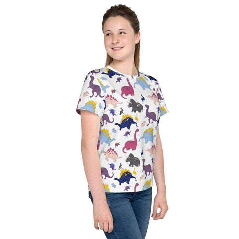 Dino-Mite Youth T-Shirt in White