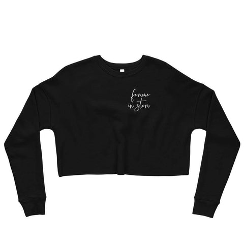 Femme in STEM - Crop Sweatshirt