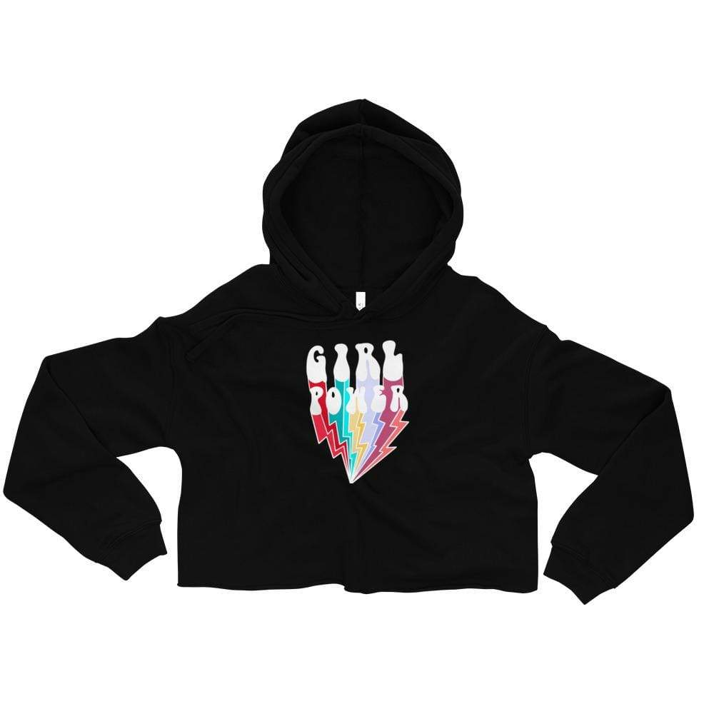 Girl Power - Crop Hoodie