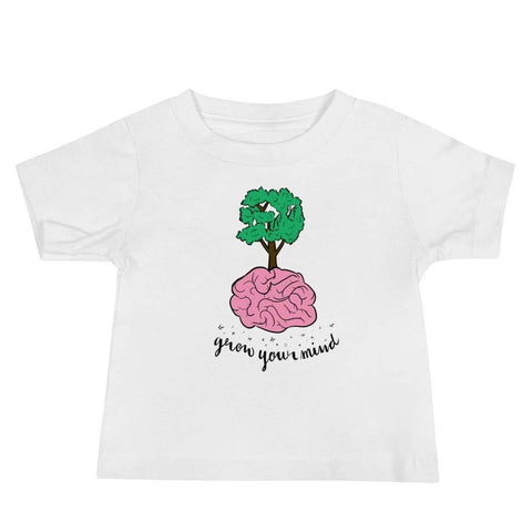Grow Your Mind - Baby Tee