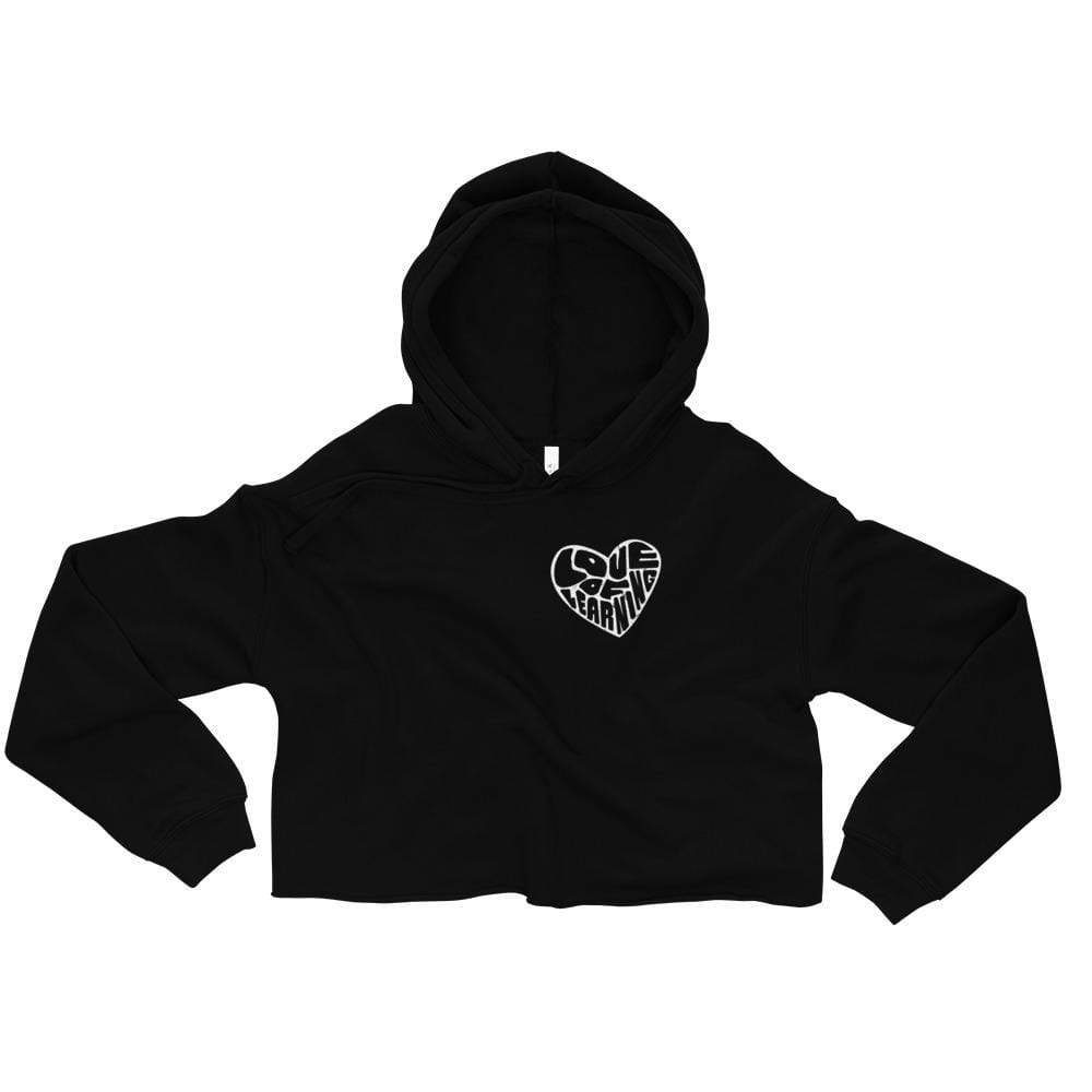 Love of Learning - Crop Hoodie