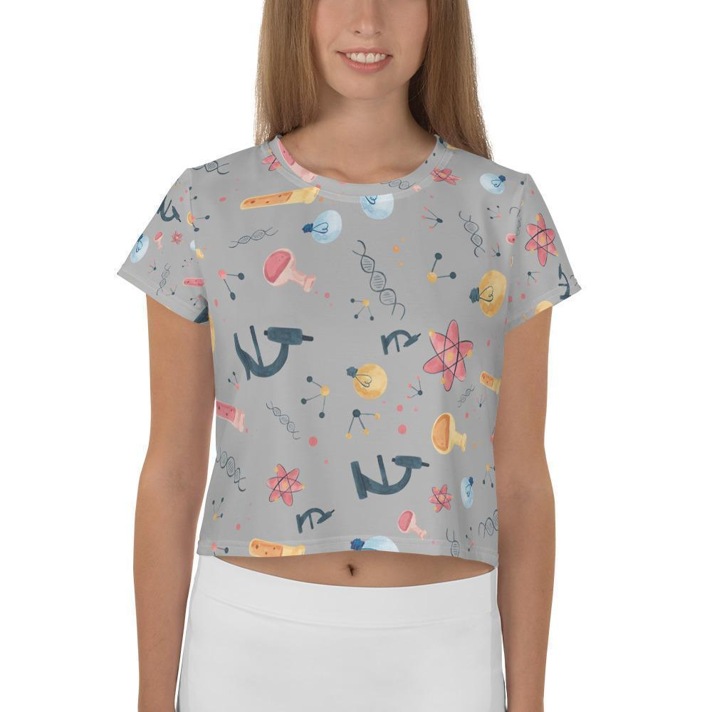 STEM Chic - Crop Tee