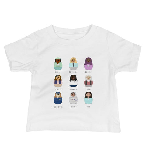Women Can Be - by Julia Ravey -Baby Tee