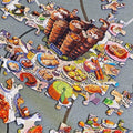 Come Makan Makan Puzzle Set (504 pieces)