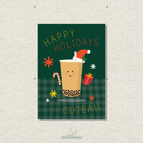 CU-TEA Christmas Card