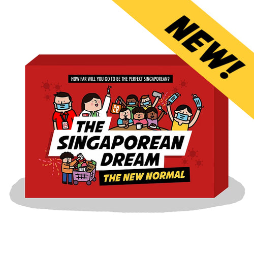 The Singaporean Dream : The New Normal Card Deck