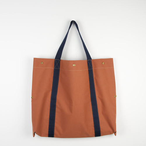 Brown Navy 2D3D Bag